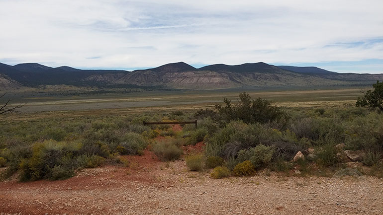 El panorama desde la Estación de Guardabosques.