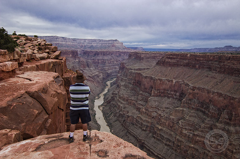 El río Colorado y el Gran Cañón.